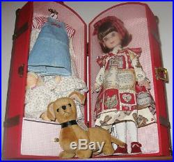 14 BETSY McCall BY Robert TONNER in TRUNK, with DOG Nosey & TWO Extra OUTFITS