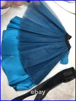16 Outfit Sized For Tonner Gene Dolls Metropolis Critics Choice Silk Dress %54