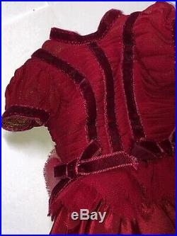 16 Tonner Ellowyne Wilde Lonely Heart Limited 400 Convention Red Gown Outfit