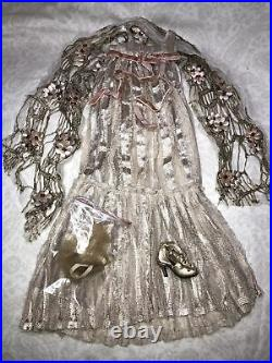 16 Tonner Ellowyne Wilde Outfit Disenchantment Gown Shaw Missing Shoe #U