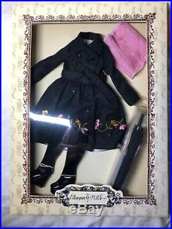 16 Tonner Outfit Ellowyne Wilde Drizzle Doldrums Umbrella Boots Mint NRFB #T