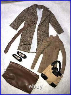 16 Tonner Tyler Wentworth Outfit City Style Tweed Coat Purse Heels Skirt 17