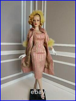 17 Deeanna Denton Pink Brocade doll outfit