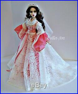 18.5 Evangeline Ghastly Parnilla Msd Bjd Collet-art Outfit Gown Dress Ooak
