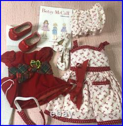 2 Betsy McCall Christmas Outfits for 14 Inch Doll by Robert Tonner