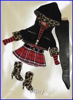 A Bit Wilde outfit only 16 Ellowyne Wilde Imagination Tonner MIB Amber Lizette