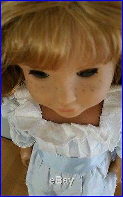 American Girl Retired Nellie Doll in Box! With Book & Outfit! Samantha Friend