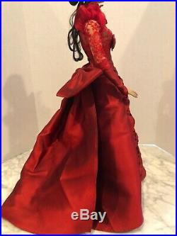 American Model VICTORIAN Great Eras In Fashion UFDC Centerpiece Red Outfit Only