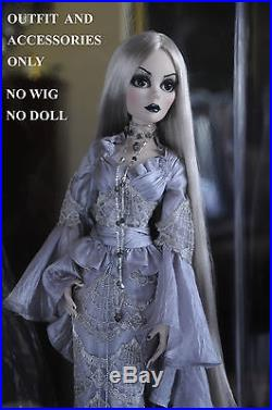 Beautiful Nightmare Evangeline Ghastly OUTFIT & ACCESSORIES ONLY -NO WIG NO DOLL