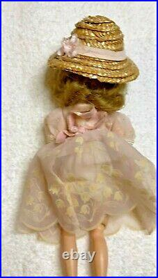 Beautiful Vintage American Character 8 Tiny Betsy McCall Doll withOutfit