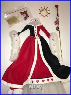 CORONATION QUEEN OF HEARTS OUTFIT ONLYfor Tonner 16 Tyler Fashion DollsLE250