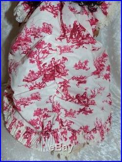 Deja Vu Anne De Toile Outfit Complete For Ellowyne, Lizette &16& Minifee No Dol