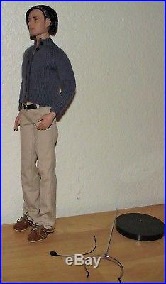 EUC- Handsome 17 Basil St John-Matt Doll-by Tonner-Complete Outfit & Stand