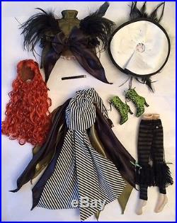 EVANGELINE GHASTLY Epoque Outfit & Wig TONNER WILDE Doll Paris Exclusive LE 50
