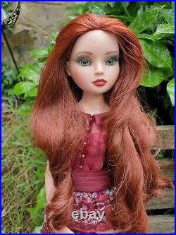Ellowyne Wilde Adrift OOAK, Mona Lisa eyes, ooak outfit, stand & box Tonner