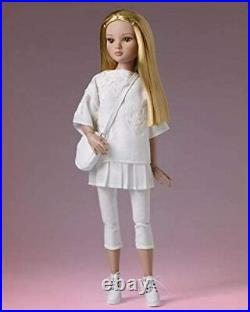 Ellowyne Wilde Right on White FULL OUTFIT Tonner doll fashion flat-foot shoes