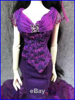 Evangline Ghastly Cemetery Chic Outfit+Wig Only Wilde Imagination TONNER-NO Doll