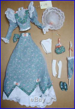 Franklin Mint 16 Gibson Girl Lily Strolling In Versailles Complete Outfit