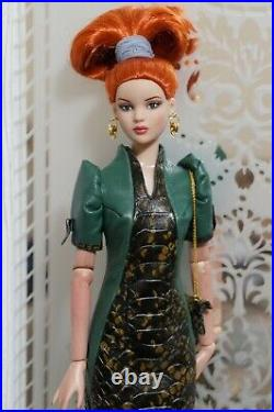 GENUINE LEATHER OUTFIT FOR DOLL 16TONNER Antoinette/Cami, Rockabilly-Chic body