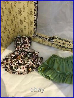 Going in Circles PARTIAL OUTFIT used Tonner Ellowyne Wilde doll fashion dress