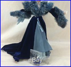 Gwtw Tonner Scarlett O'hara Heartbroken Blue 16 Doll Costume Outfit No Doll Inc