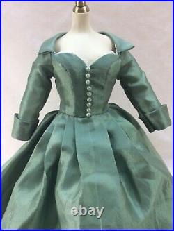 Gwtw Tonner Scarlett O'hara My Tara 16 Doll Costume Outfit -no Doll Included