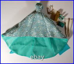 Integrity Fashion Royalty East 59th Turquoise Sparkler Outfit Evelyn Weaverton