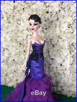 Lavender Purple Coat Outfit Gown Tonner Evangeline Ghastly only ooak