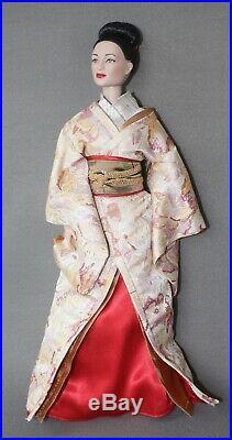 MIB TONNER Sayuri Doll Memoirs of a Geisha Wearing OKIYA VISIT Outfit No stand