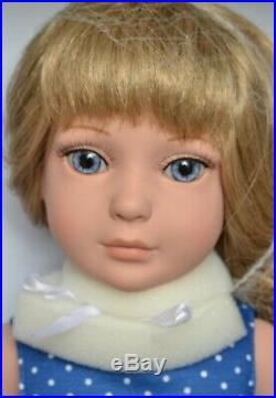 MY IMAGINATION STARTER 18 BLONDE Dressed Play Doll TONNER + 6 More OUTFITS NEW
