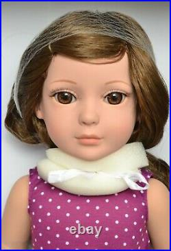 MY IMAGINATION STARTER 18 BRUNETTE Dress Play Doll TONNER NEW + GLINDA OUTFIT