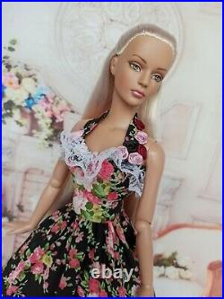NEW DRESS Outfit for dolls16Tonner doll Tyler body. Sybarite doll 14