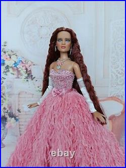 NEW DRESS and jewelry Outfit for dolls16 Tonner doll Cami, Antoinette doll