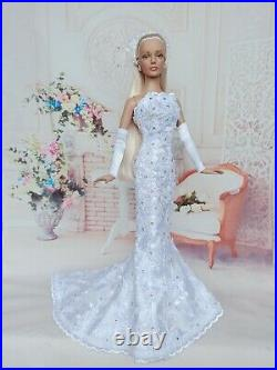 NEW Wedding Outfit for dolls16 Tonner doll Tyler body. Sybarite