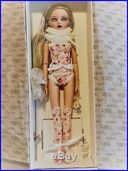Nude Ellowyne Wilde Dark Day's Tonner Doll Wearing Ooak Lingerie Outfitl@@k