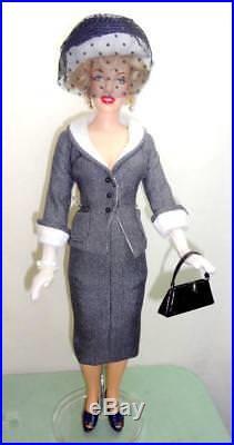 OOAK Love Nest Marilyn Monroe Franklin Mint 16 Doll + Tonner Roberta Outfit