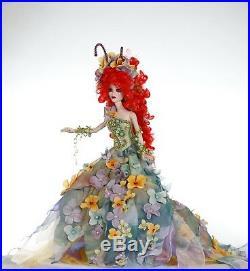 OOAK outfit dressTitania for Evangeline Ghastly Tonner doll 19 035