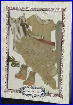 Olive Drab outfit 16 Ellowyne Wilde Imagination Tonner NRFB fits Amber No Doll