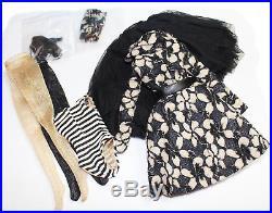 Orig. Wilde Dark Flowers Outfit for 16 Ellowyne or Pru or Amber Doll