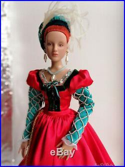 Outfit/Dress OOAK Handmade Renaissance for Tonner doll 16 Antoinette /Cami/Jon