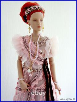 Outfit/Dress for Tonner doll 16 Antoinette. Tea Rose