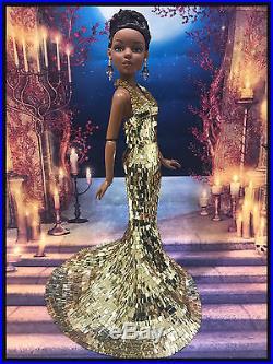 PKPP012- Tonner Ellowyne Wide Handmade Gown Sequin Dress Outfit dolls 16