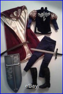 Prince Phillip Limited Ed OUTFIT 17 LE/3500 Tonner Dolls Disney Sleeping Beauty