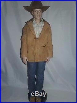 Robert Tonner 17 Male Doll Blonde Cowboy Charlie Matt 00ak Outfit Jeans Hat