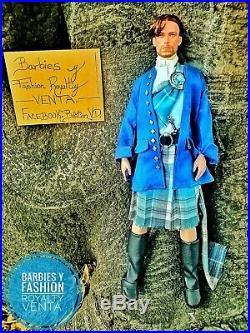 Robert Tonner Doll Outlander Jamie Fraser 17 OOAK Outfit Scottish Kilt