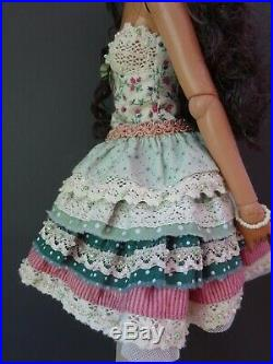 Robert Tonner Jonquil / Antoinette Doll In Fabulous Brand New Outfit And Shoes