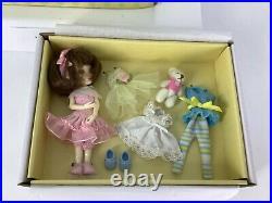 Robert Tonner Wilde Imagination Amelia Thimble Set BJD Doll 4 Outfits + Bear NIB