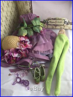 Secret Garden Iris Amber COMPLETE OUTFIT Tonner Ellowyne Wilde doll fashion