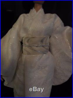 Silk Wedding Kimono Outfit with Uchikake for 15-16 Dolls Gene Tyler Tonner a2