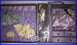 TONNER 8 TINY BETSY McCALL LILACS & LACE GIFT SET DOLL TRUNK OUTFITS BC6301